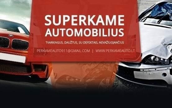 Superkame lengvuosius automobilius